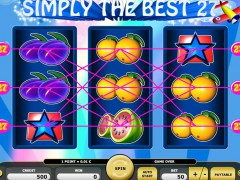 Simply The Best slotmachines77.net Kajot Casino 1/5