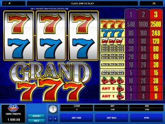 Grand 777 slotmachines77.net Microgaming 1/5