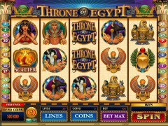Throne Of Egypt slotmachines77.net Microgaming 1/5