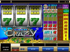 Cash Crazy slotmachines77.net Microgaming 1/5