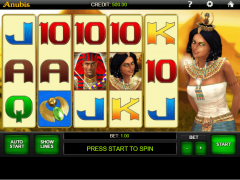 Anubis slotmachines77.net iGaming2GO 1/5