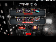 Crime Pays slotmachines77.net William Hill Interactive 1/5