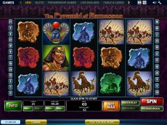 The Pyramid of Ramesses slotmachines77.net Playtech 1/5