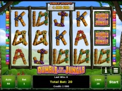 Rumble in the Jungle slotmachines77.net Greentube 1/5