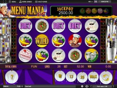 Menu Mania slotmachines77.net Espresso Games 1/5