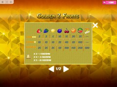 Golden7Fruits slotmachines77.net MrSlotty 5/5
