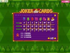 Joker Cards slotmachines77.net MrSlotty 5/5