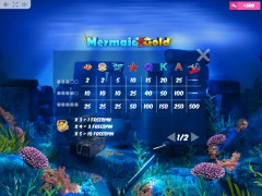 Mermaid Gold slotmachines77.net MrSlotty 5/5