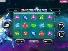Unicorn Gems slotmachines77.net MrSlotty 1/5