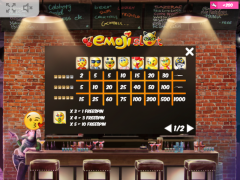 Emoji Slot slotmachines77.net MrSlotty 5/5